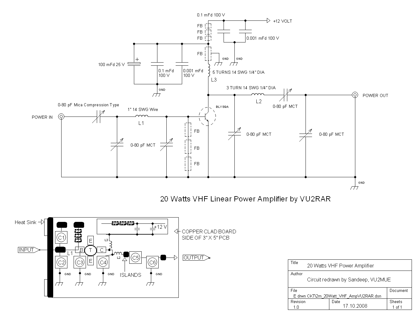 Some of my Circuit Collections redrawn using TinyCad